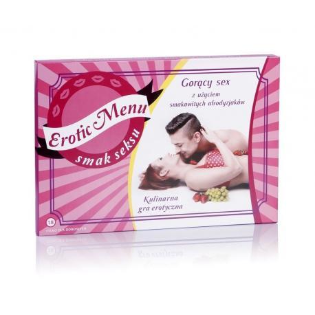 Hurtowa oferta Erotyczna gra dla par - Erotic menu - Gry dla par Gry dla par