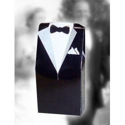 Smoking - pudełeczko ślubne