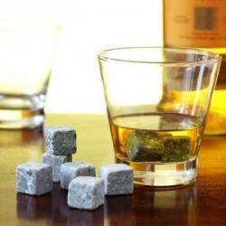 Polar Whiskey Stones, Set of 9