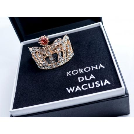 Korona dla Wacusia idealne na prezent Dla niego Gadżety