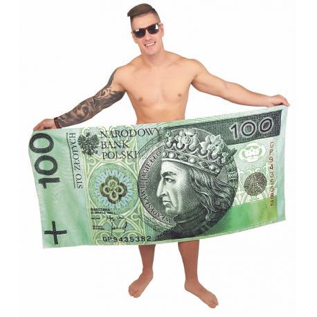 Ręcznik milionera - sportowy idealne na prezent Dla szefa Do łazienki
