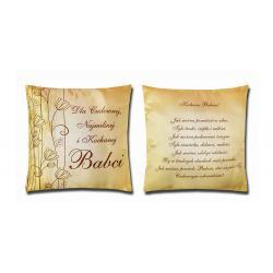 Poduszka dla babci - cudowna babcia