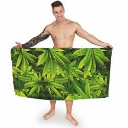 """Ręcznik z motywem \\""""marychy\\"""" idealne na prezent Dla studenta"""