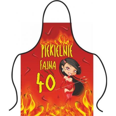 Hurtowa oferta Fartuszek na 40 urodziny - Fartuchy kuchenne Fartuchy kuchenne