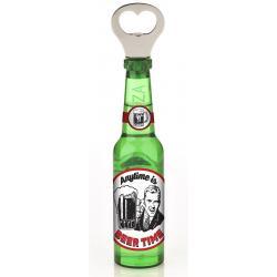 Otwieracz piwo z magnesem - Anytime Beer Time idealne na prezent Dla studenta