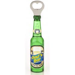 Otwieracz piwo z magnesem - Dad's Bar idealne na prezent Na dzień taty