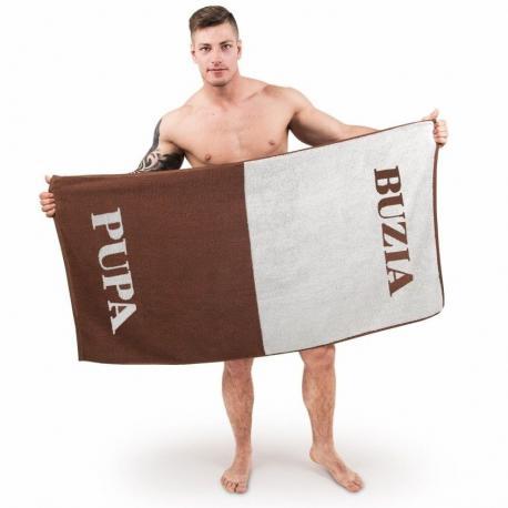 Ręcznik pupa-buzia idealne na prezent Dla niego Do łazienki
