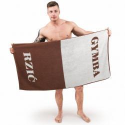 Ręcznik: pupa-buzia/gymba-rzyć - wersja śląska