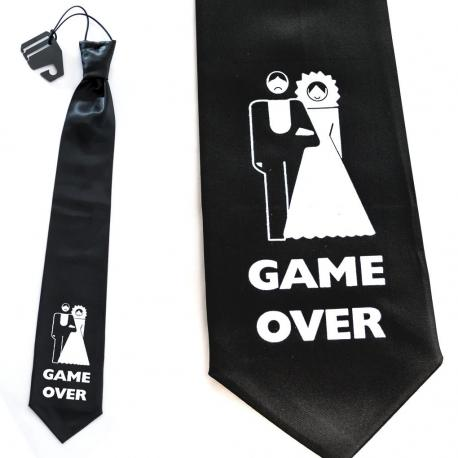 Hurtowa oferta Krawat na wieczór kawalerski GAME OVER - Przebrania i stylizacje