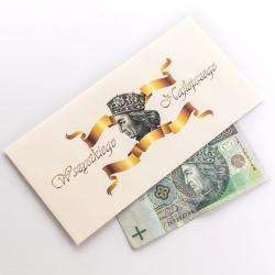 Koperta na pieniądze idealne na prezent Na ślub