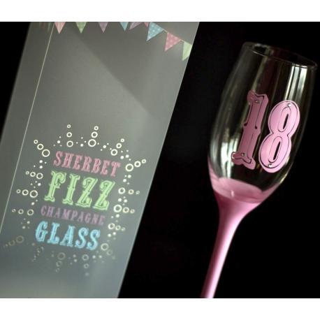Hurtowa oferta Cukierkowy kieliszek na osiemnastkę - Do wina Ręcznie zdobione kieliszki do wina