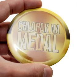Przypinka dla chłopaka na medal