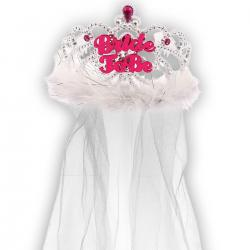 "Tiara z welonem ""Bride to be"""