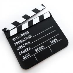 Clapper Board Film Movies Prop