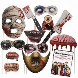 Hurtowa oferta Patyczki do zdjęć na Halloween - Przebrania i stylizacje
