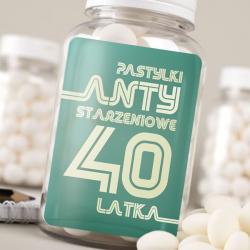 Hurtowa oferta Pastylki na 40 urodziny - Czekoladki i słodycze