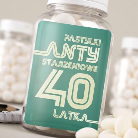 Wybitny Hurtownia prezentów - Pastylki na 40 urodziny, Czekoladki i słodycze BU39