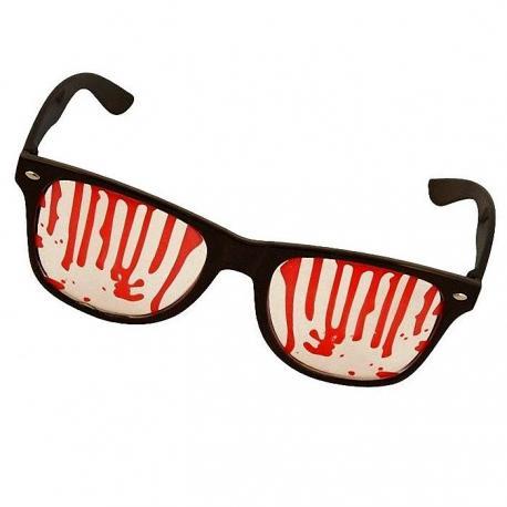 Hurtowa oferta Krwawe okulary - Przebrania i stylizacje Przebrania i stylizacje