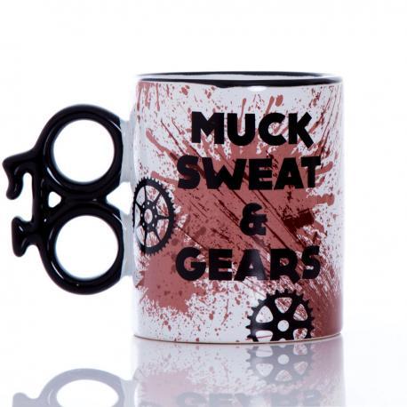Kubek rowerzysty - Muck, Sweat & Gears  Mugs