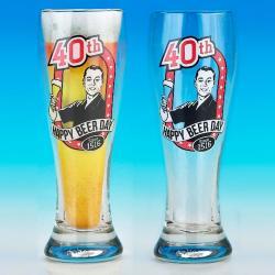 Hurtowa oferta Kufel Pilsner na 40 urodziny - Kufle do piwa