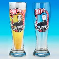 Hurtowa oferta Kufel Pilsner na 50 urodziny - Kufle do piwa