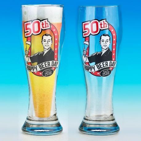 Hurtowa oferta Kufel Pilsner na 50 urodziny - Kufle do piwa Kufle do piwa
