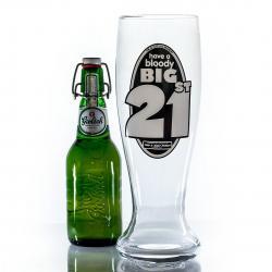 Hurtowa oferta Cholernie wielki kufel do piwa na 21 urodziny - Kufle do piwa