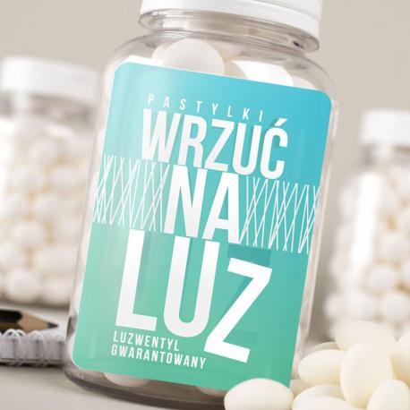 Pastylki Wrzuć Na Luz idealne na prezent Dla studenta Czekoladki i słodycze