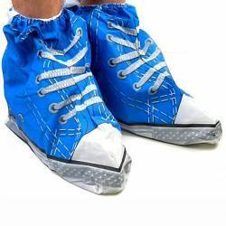 Ochraniacze przeciwdeszczowe na buty - niebieskie