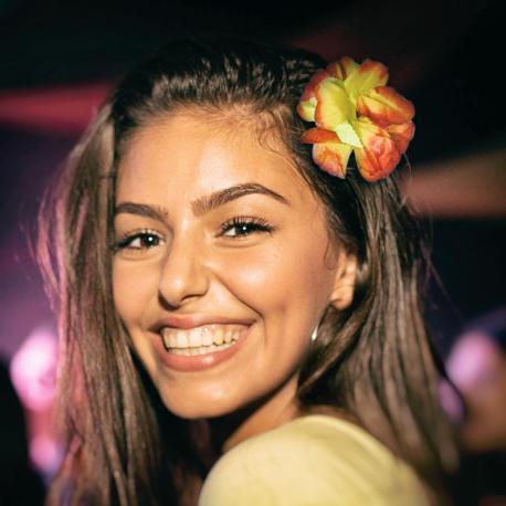 Hurtowa oferta Hibiskus - hawajski kwiat do włosów - Przebrania Przebrania i stylizacje