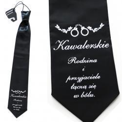 Krawat na wieczór kawalerski kondolencje Na wieczór kawalerski