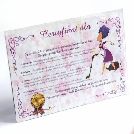 Hurtowa oferta Certyfikat przyszłej żony - Przebrania i Przebrania i stylizacje