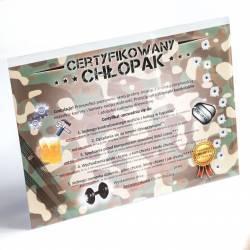 Hurtowa oferta Certyfikat na Dzień Chłopaka - Dla domu