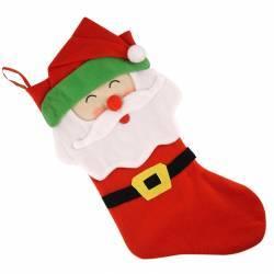 Dekoracyjna Świąteczna skarpetka Mikołaj idealne na prezent Na boże narodzenie