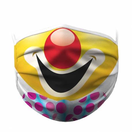 Maseczka ochronna klauna idealne na prezent Dla dzieci Gadżety