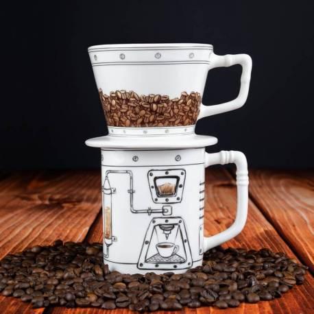 Coffeemageddon - Dripper i kubek Gadgets