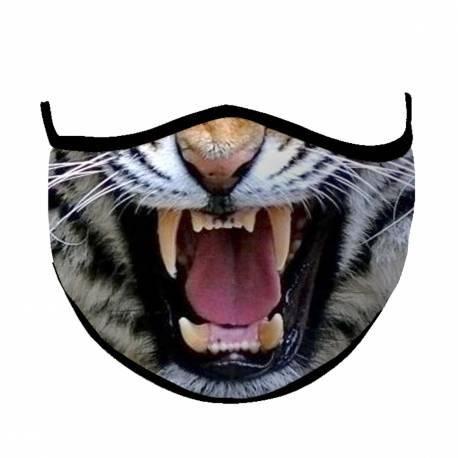 Na Halloween - Ochronna maseczka drapieżny kot Gadżety