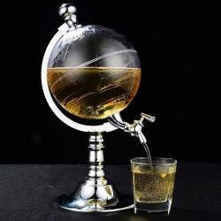 Party alcohol dispenser globe