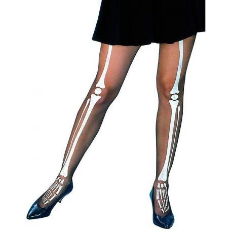 Hurtowa oferta Rajstopy z wzorem kości szkieletu - Przebrania i Przebrania i stylizacje